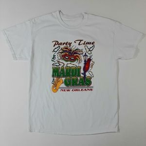 Party Time New Orleans Mardi Gras T-Shirt